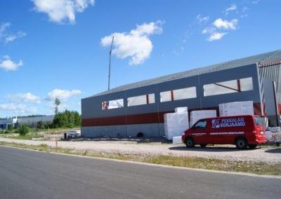 Teollisuushalli Pekkalan korjaamo, Orimattila